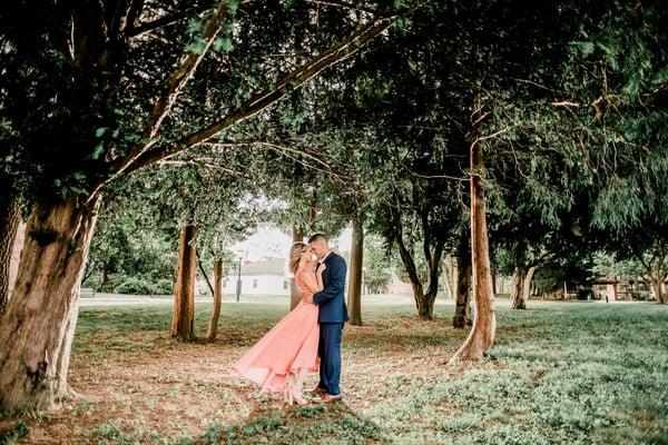 CW Post Engagement Photo | Lotus Wedding Photography
