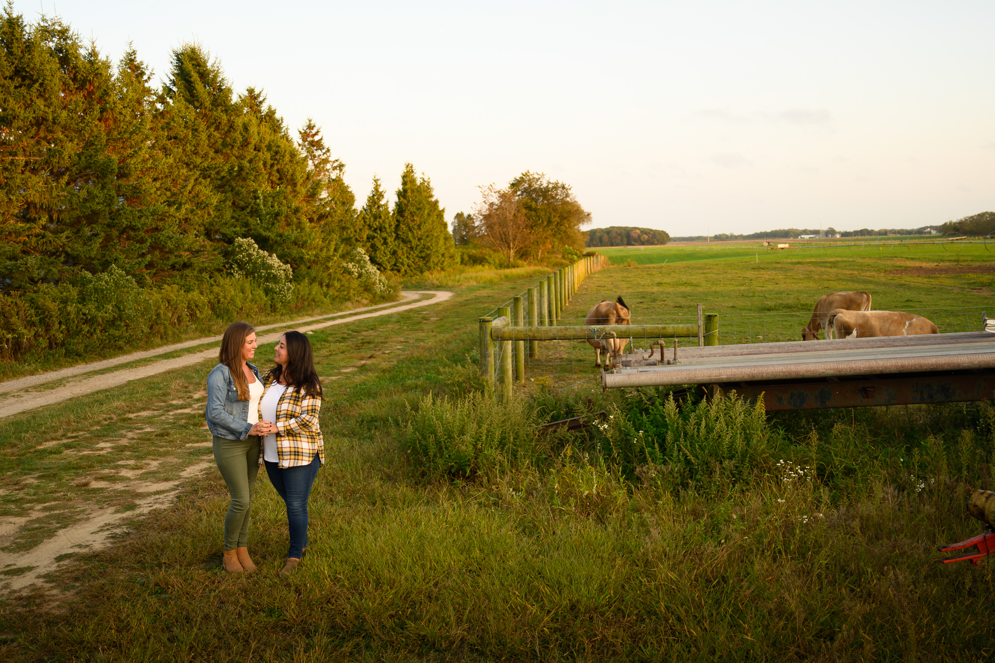 Jamesport Farm & Brewery Engagement Photos-19