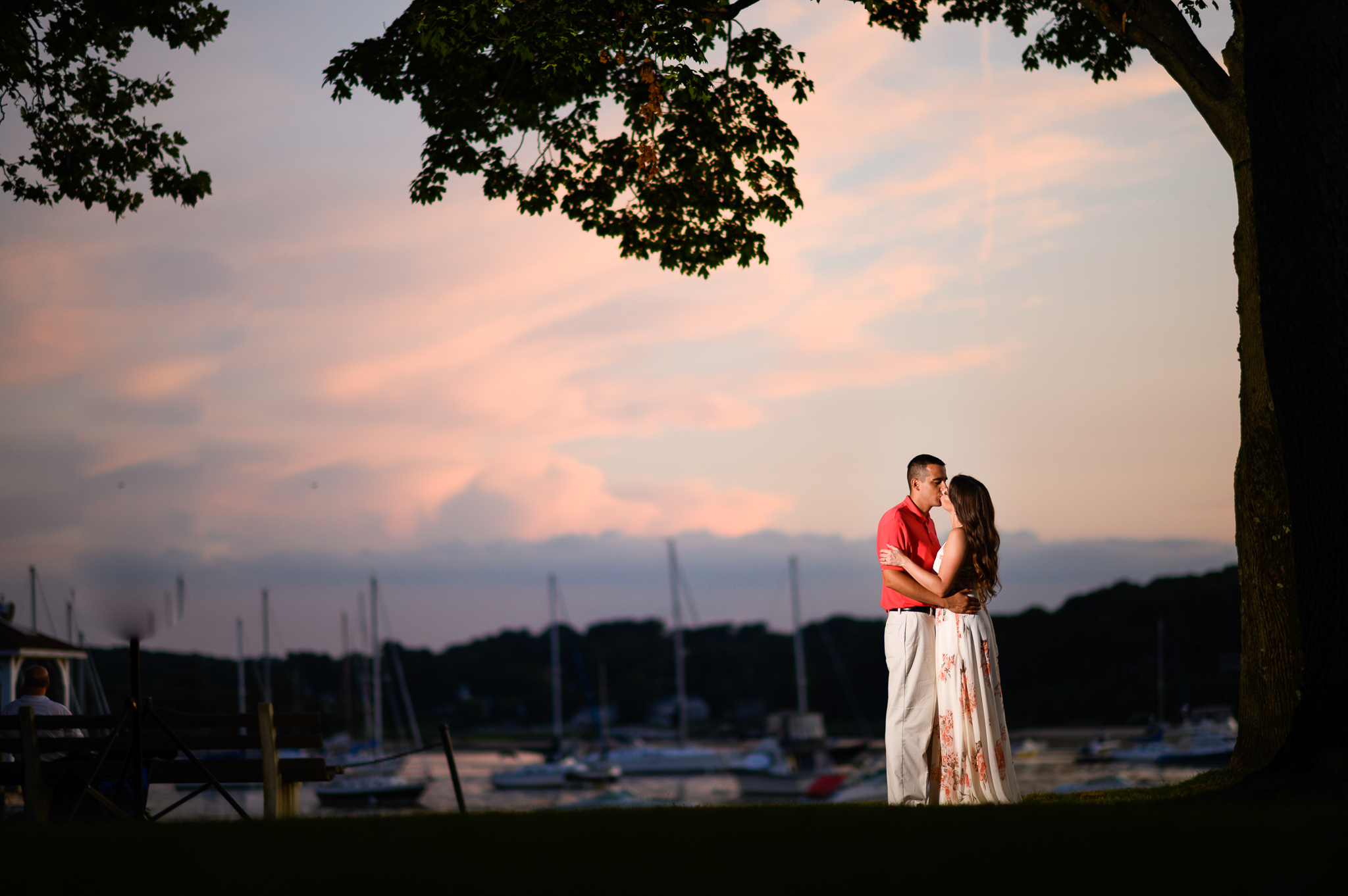 Northport Harbor Engagement Photos-31