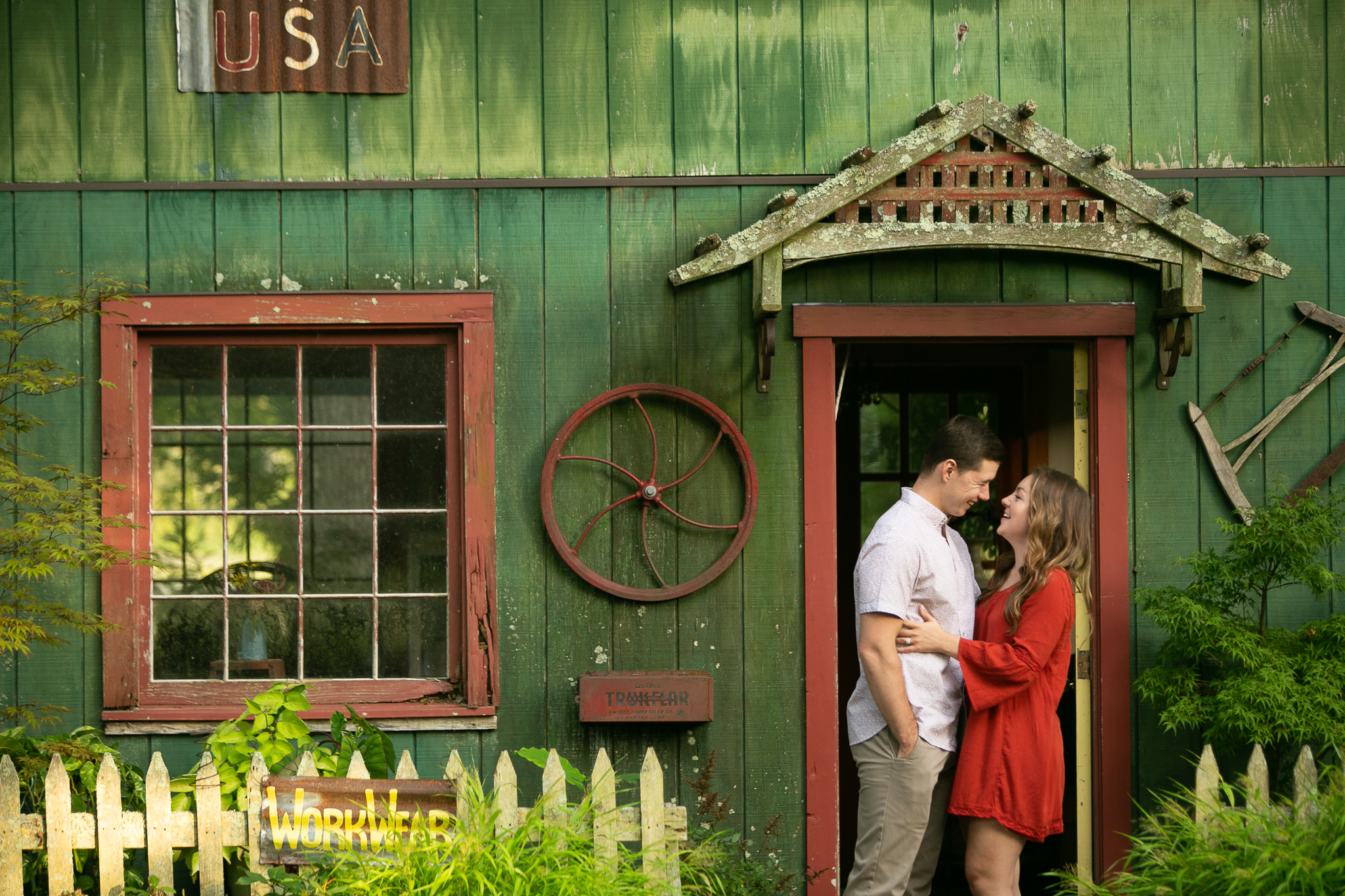 Peconic Herb Garden Engagement Photos-20