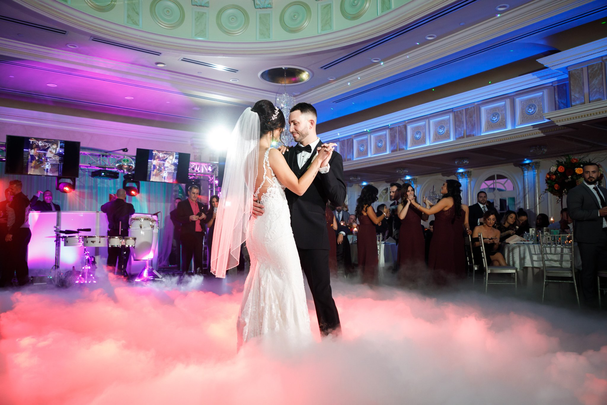 Bride and Groom dancing at wedding | Lotus Wedding Photography