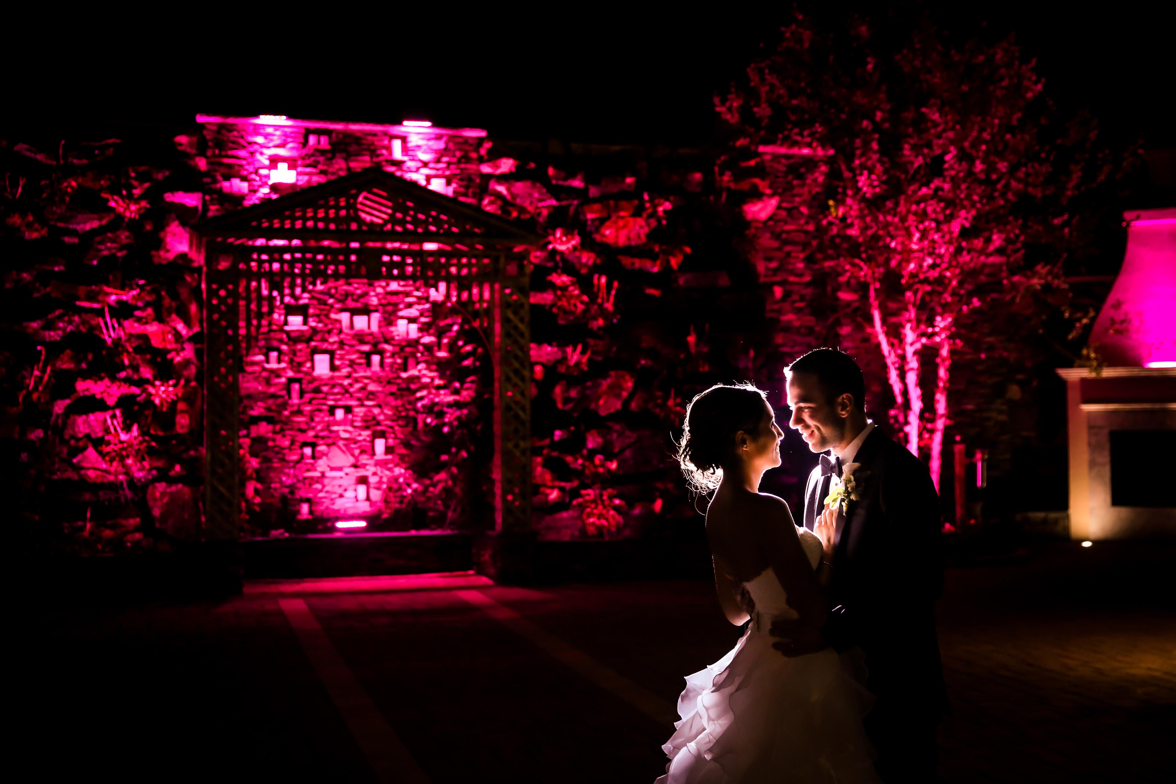 Couple embracing on their wedding day | Lotus Wedding Photography